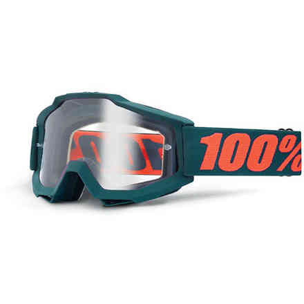 MASK 100% ENDURO GUNMETAL 100%