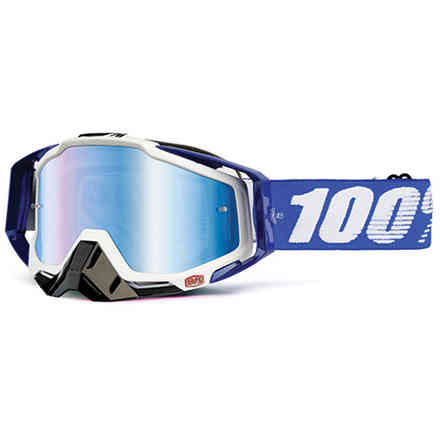 MASQUE 100% Racecraft BOB. BLEU 100%