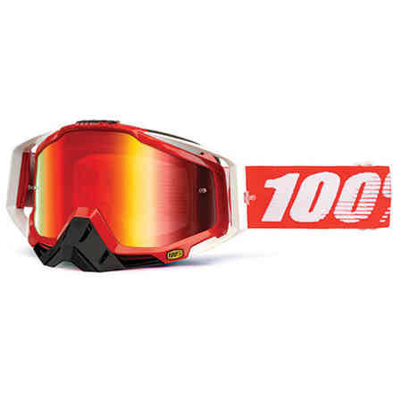 Masque Racecraft feu 100%