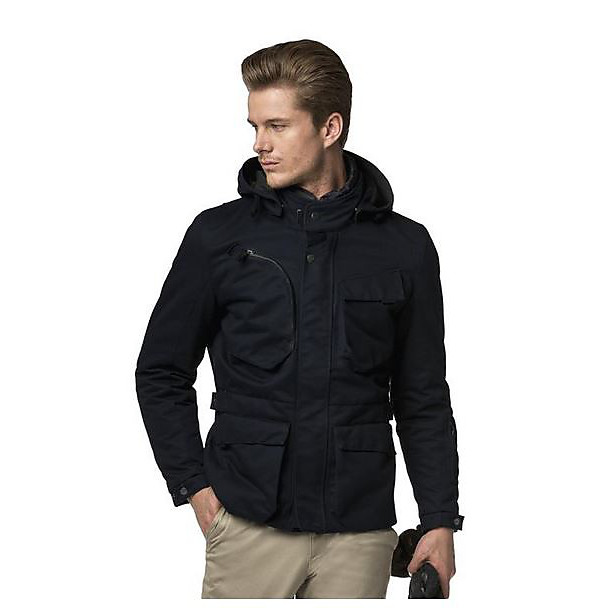 Master Combat H2Out Jacket blue Spidi