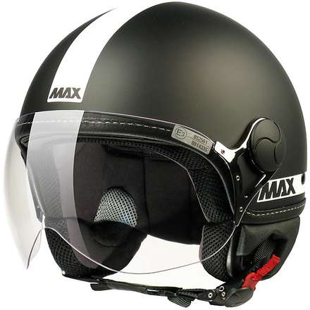 Max Power  Helmet Black matt-White MAX - Helmets