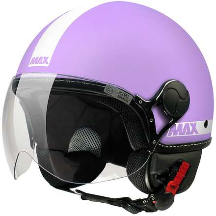 Max Power  Helmet Cyclamen matt-White MAX - Helmets