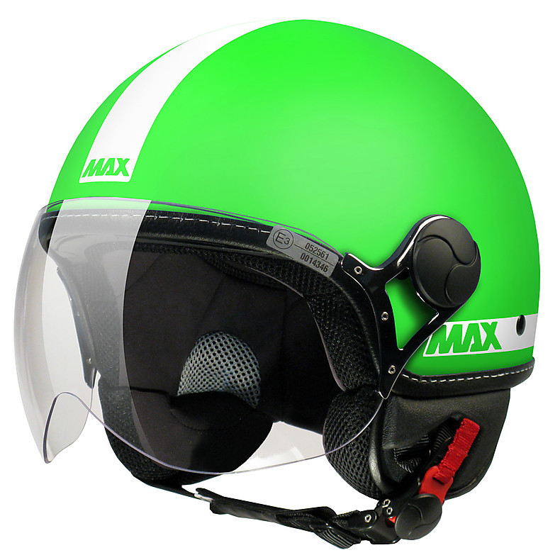 Max Power  Helmet Green matt-White MAX - Helmets