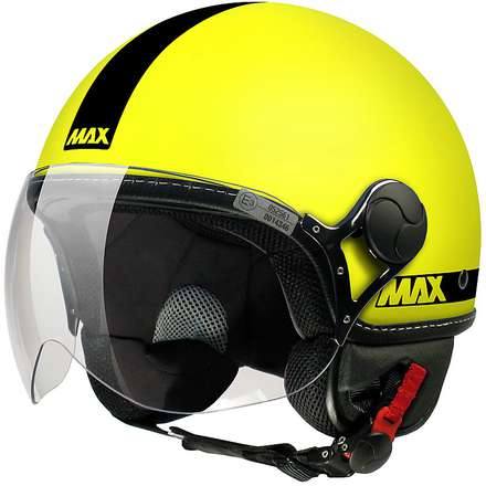 Max Power  Helmet  Yellow Matte-black  MAX - Helmets