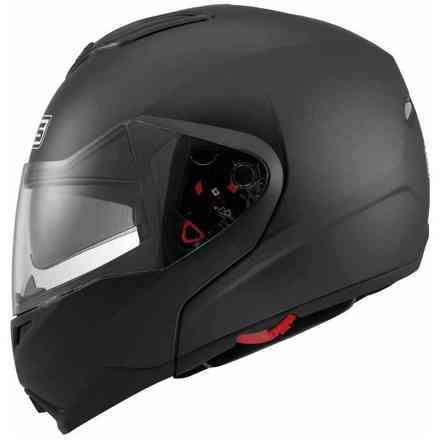 Md200 Solid Flat Black Helmet Mds