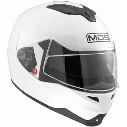 Md200 Solid White Helmet Mds