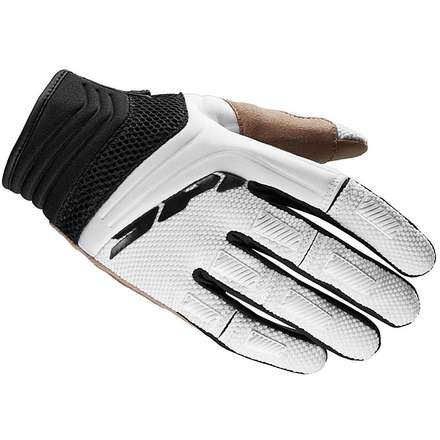 Mega-X black-white Gloves Spidi