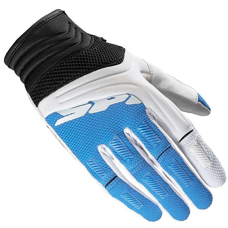 Mega-X Lady white-blue Gloves Spidi