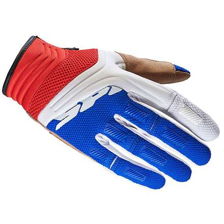 Mega-X white-red Gloves Spidi