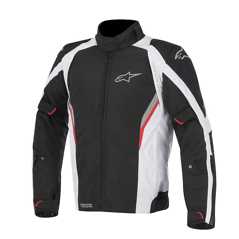 Megaton Drystar Jacket 2015 black-white-red Alpinestars