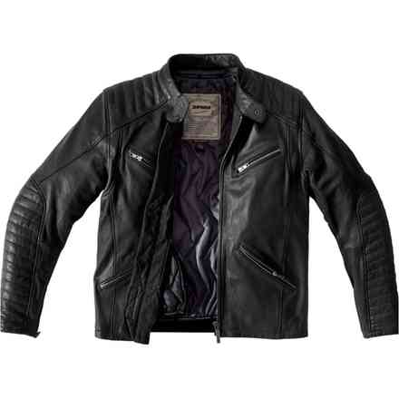 Metal Leather Jacket Spidi