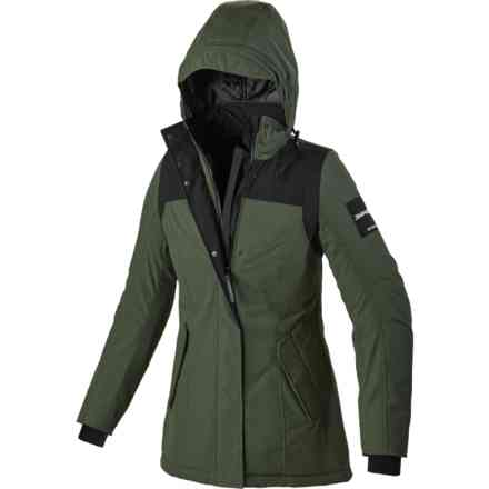 Metropole Lady H2Out jacket black green  Spidi