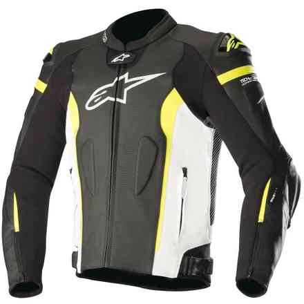 Missile Tech Air Compatible black white yellow fluo Alpinestars