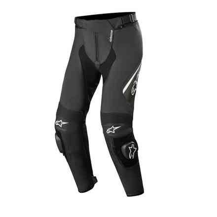 Missile V2 Leather pants black white Alpinestars
