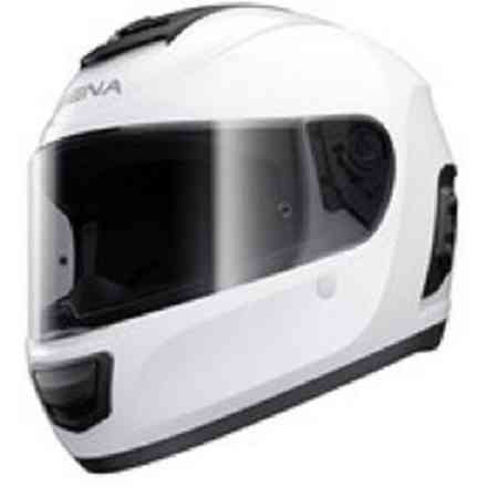 Momentum Helmet, Dual With Bluetooth Glossy White Sena