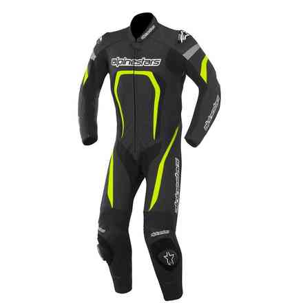 Motegi 2015 Suit black-yellow Alpinestars