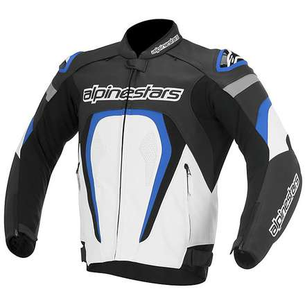 Motegi Jacket 2015 black-white-blue Alpinestars