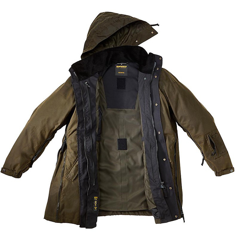 Motocombat Wax H2Out Jacket Spidi