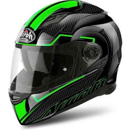Movement S Faster green Helmet Airoh