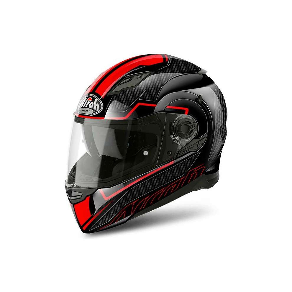 Movement S Faster red Helmet Airoh