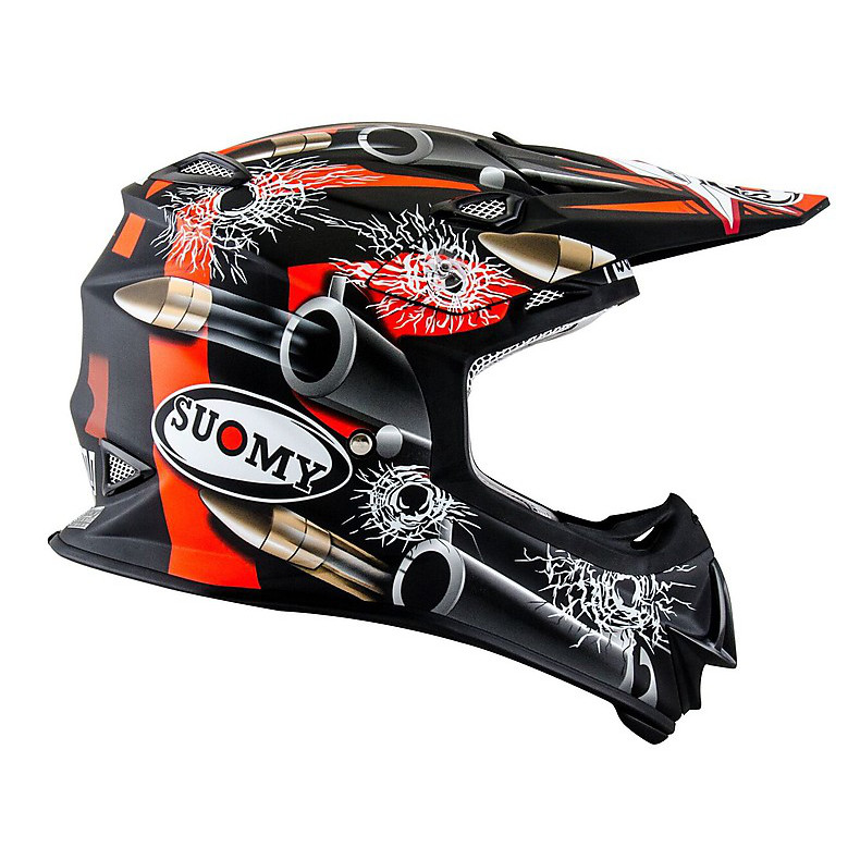 Mr Jump Bullet matt black Helmet Suomy