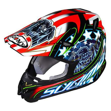 Mr Jump Eagle Black Helmet Suomy
