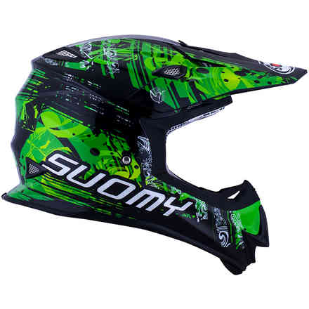 Mr Jump Maori green Helmet Suomy