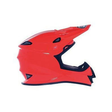 Mr Jump Plain Orange Helmet Suomy