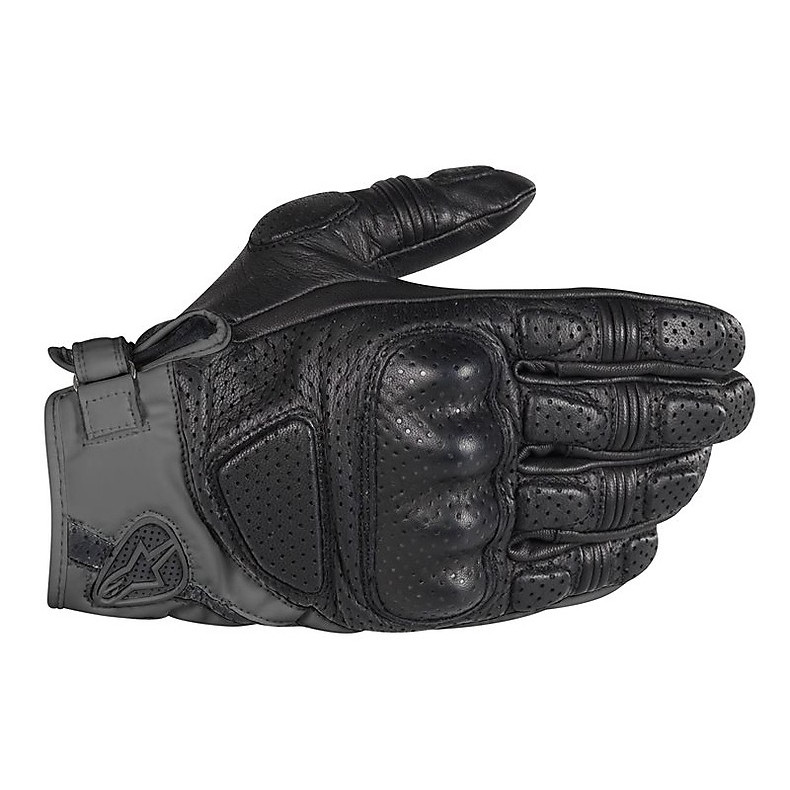 Mustang Gloves black-dark gray Alpinestars