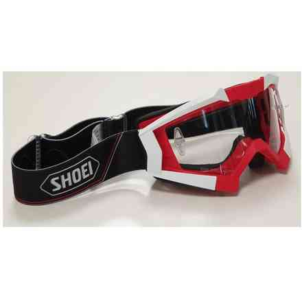 Mx Goggle Red Better Shoei