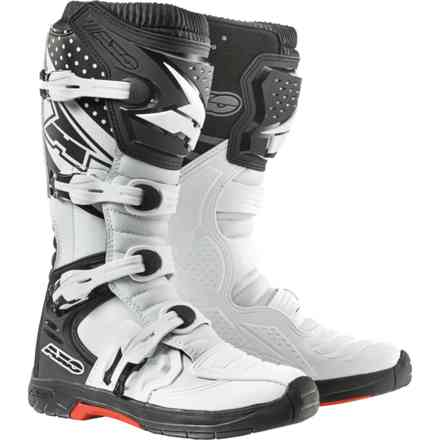 Mx One boots white black Axo