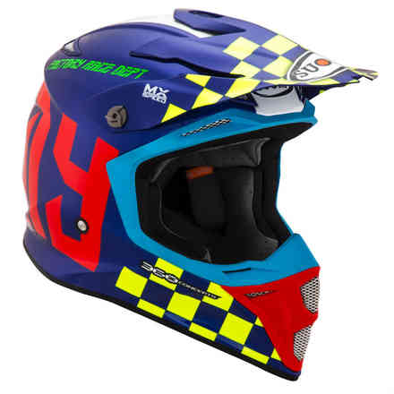 Mx Speed ​​Master MultiColor Helm Suomy