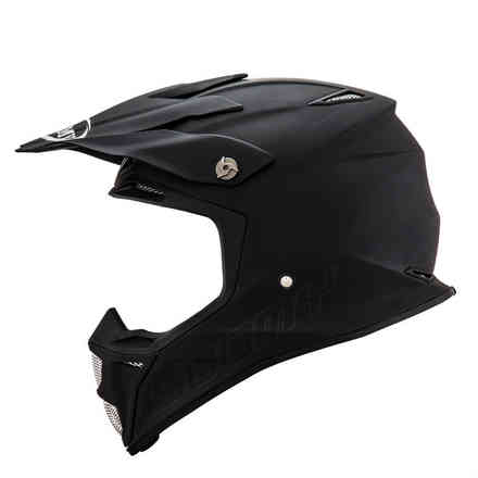 Mx Speed ​​Plain Matt Schwarzer Helm Suomy