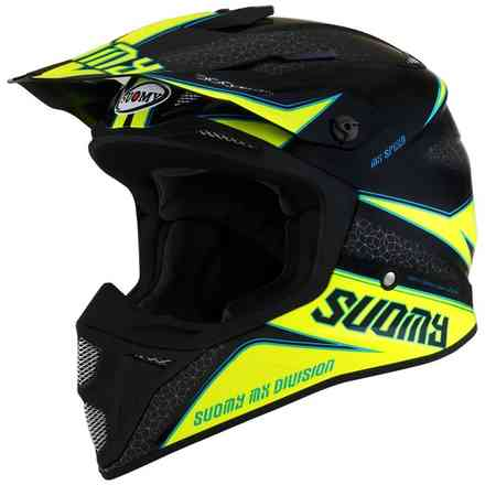 Mx Speed ​​Transition Helm Gelb-Schwarz Suomy