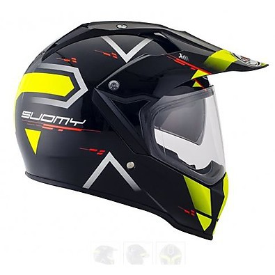 Mx Tourer Road yellow Helmet Suomy