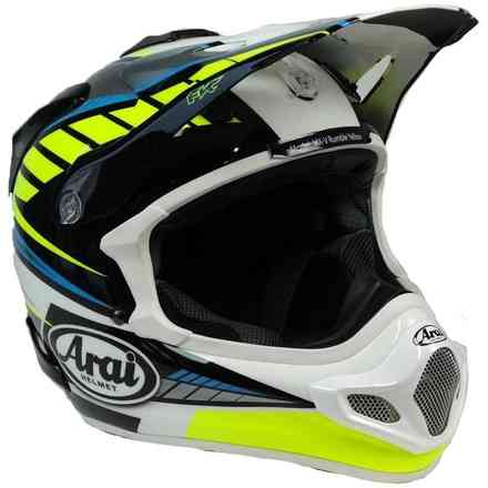 Mx-V Rumble Yellow Helmet Arai