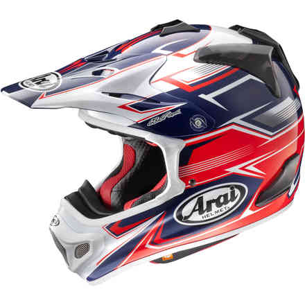 MX-V Sly red Helmets Arai