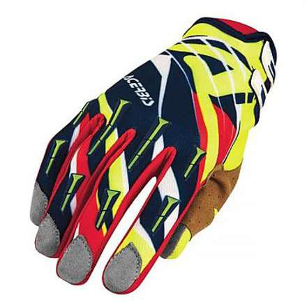Mx-x2 blue-red gloves Acerbis