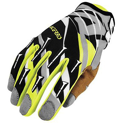 Mx-x2 blue-yellow gloves Acerbis