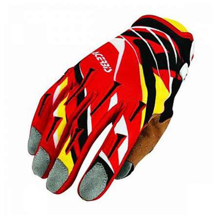 Mx-x2 red-yellow gloves Acerbis