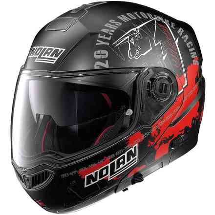 N104 Absolute Iconic replica Checa N-Com Helmet  Nolan