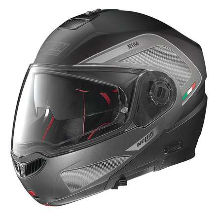 N104 Absolute Tech N-Com Helmet  Nolan