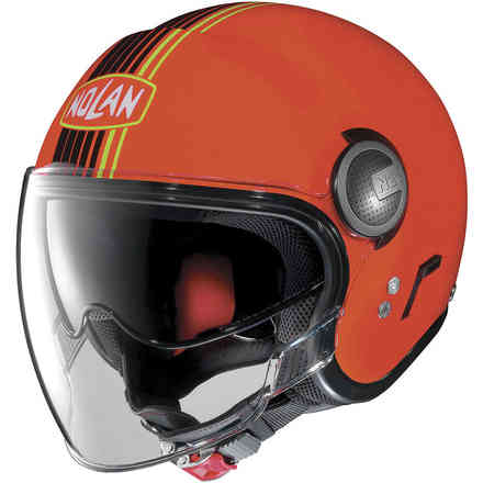 N21 Visor Joie De Vivre Led Orange Helmet Nolan
