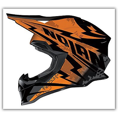 N53 Comp Orange Helmet Nolan
