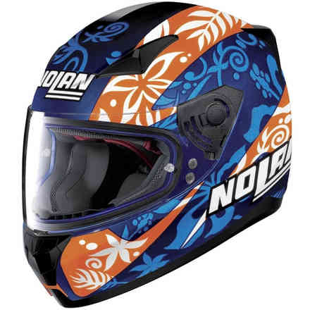 N60-5 Gemini Replica Petrucci Helmet Blue orange Nolan