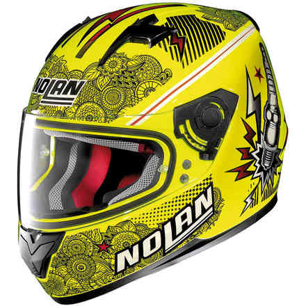 N64 Let'S Go yellow Helmet Nolan