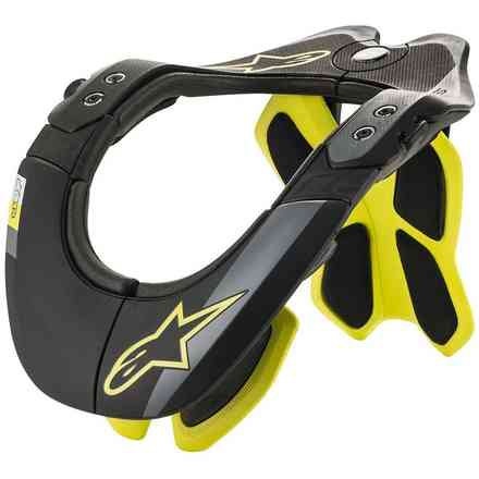 Neck Support Bns Tech-2 Black Yellow Fluo Alpinestars