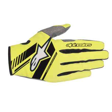 Neo Gloves Yellow Fluo Black Alpinestars