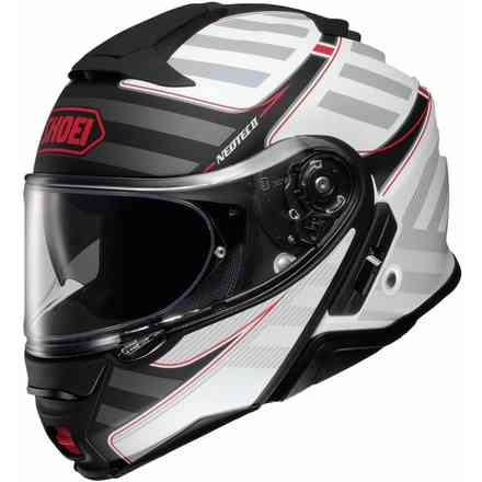Neotec II Splicer Tc-6 White Grey helmet Shoei