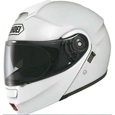 Neotec White Helmet Shoei